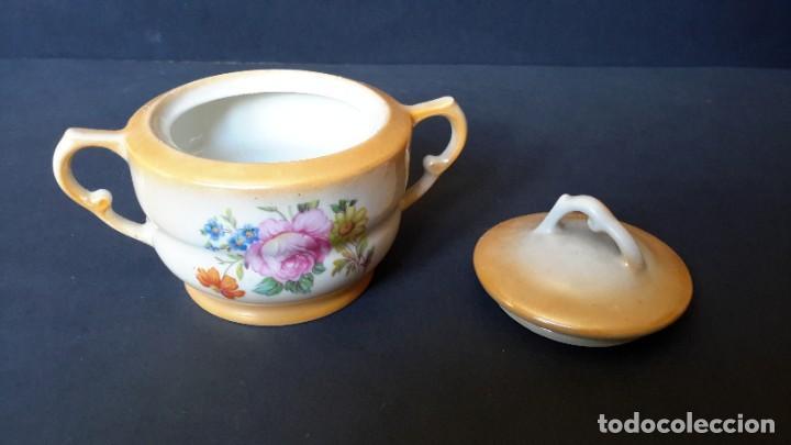 Antigüedades: Jarrita para leche y azucarero - Foto 2 - 183680381