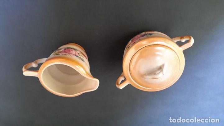 Antigüedades: Jarrita para leche y azucarero - Foto 3 - 183680381