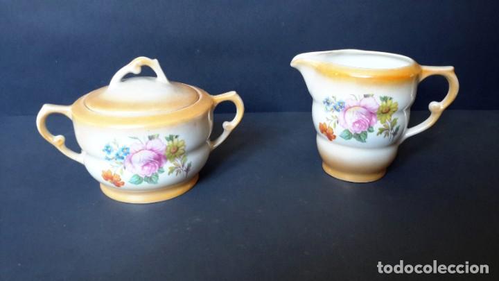 JARRITA PARA LECHE Y AZUCARERO (Antigüedades - Porcelanas y Cerámicas - Santa Clara)