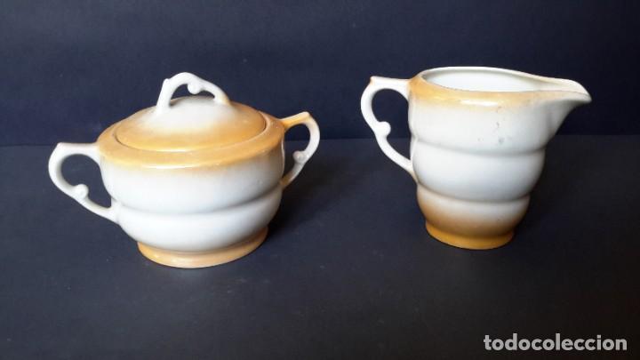 Antigüedades: Jarrita para leche y azucarero - Foto 5 - 183680381