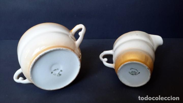 Antigüedades: Jarrita para leche y azucarero - Foto 6 - 183680381
