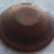 Antigüedades: MUY ANTIGUO PLATO HONDO DE CERÁMICA POPULAR CATALANA 17 CM DE DIÁMETRO. Lote 183685781