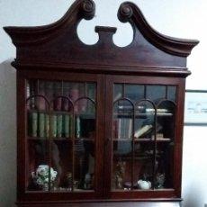 Antigüedades: CANTERANO CON VITRINA. Lote 183696696