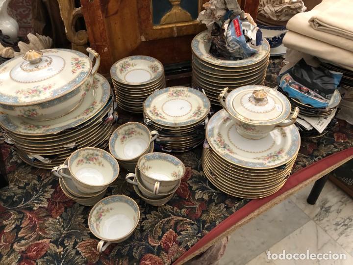 VAJILLA DE PORCELANA MADE IN JAPAN OCCUPIED, MUY BUSCADA Y DE EXTRAORDINARIA CALIDAD (Antigüedades - Porcelanas y Cerámicas - Otras)