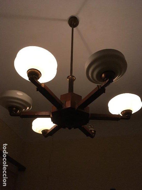 LAMPARA ART DECO (Antigüedades - Iluminación - Lámparas Antiguas)
