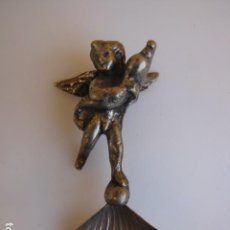 Antigüedades: CONCHA BAUTISMAL ALPACA. MADE IN ITALIA. . Lote 183722630