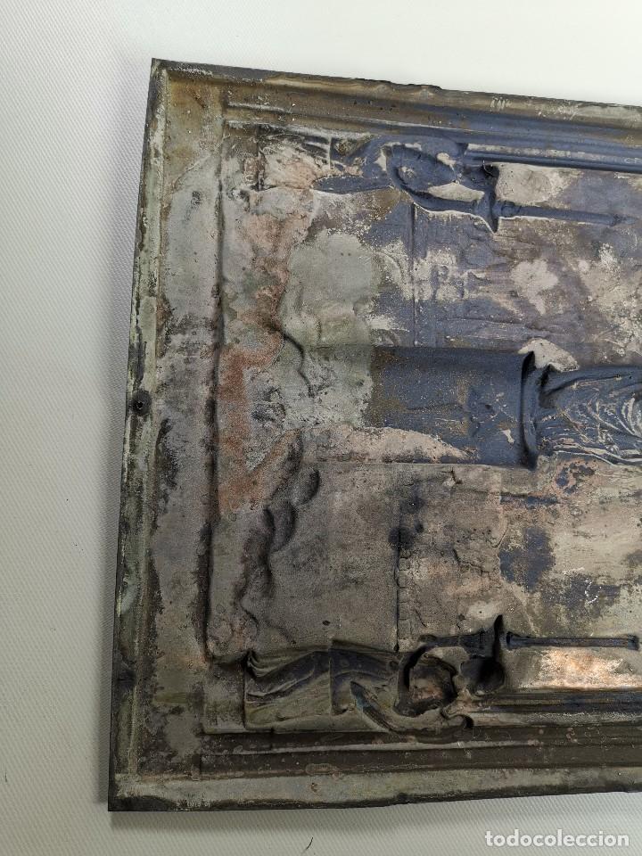Antigüedades: CUADRO RELIEVE PLACA DE COBRE REPUJADA Ntra. Sra. DEL PILAR. PILARICA. ZARAGOZA.SIGLO XIX - Foto 27 - 183727737