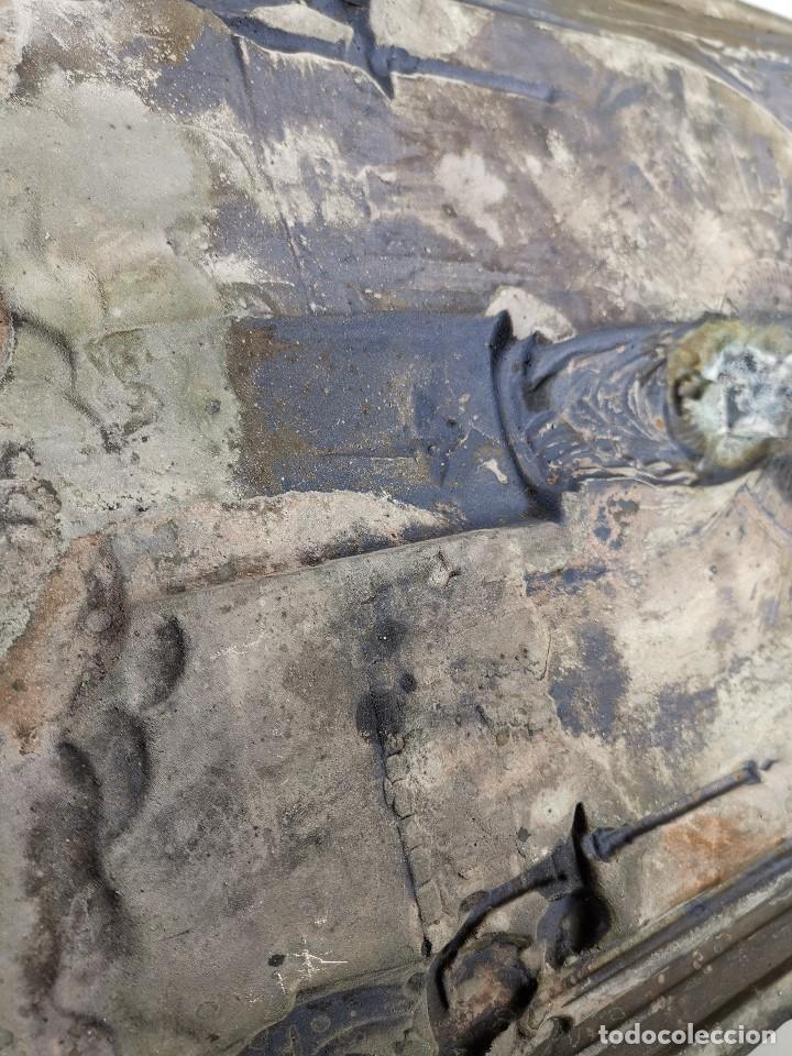 Antigüedades: CUADRO RELIEVE PLACA DE COBRE REPUJADA Ntra. Sra. DEL PILAR. PILARICA. ZARAGOZA.SIGLO XIX - Foto 28 - 183727737