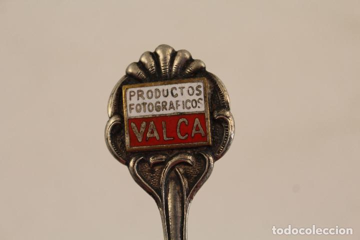 Antigüedades: cuchara de coleccion - p. valca en plata de ley 925 - Foto 2 - 183761396