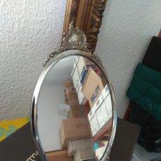 Antigüedades: ORIGINAL ESPEJO PARA COMODIN O COMODA PLATA O SIMILAR VINTAGE. Lote 183765786