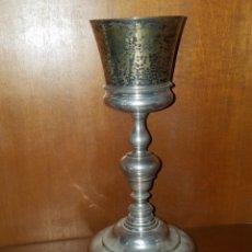 Antigüedades: IMPORTANTE CÁLIZ EN PLATA DEL AÑO 1789 VALENCIA. Lote 183769686