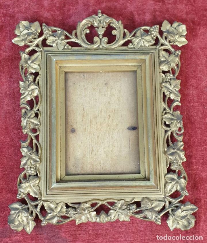 Antigüedades: PAREJA DE MARCOS. MADERA Y ESTUCO DORADOS. PRINCIPIOS SIGLO XX. - Foto 2 - 183770387