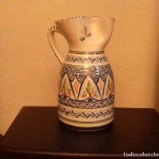 Antigüedades: DE LA CAL BARREIRA PUENTE DEL ARZOBISPO 117 JARRA CERÁMICA. Lote 183785615