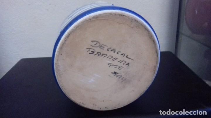 Antigüedades: De la Cal Barreira Puente del Arzobispo 117 jarra cerámica - Foto 3 - 183785615