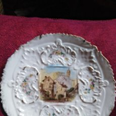 Antigüedades: ANTIGUO PLATO DE PORCELANA. Lote 183792656