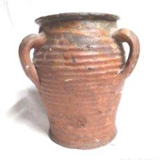Antigüedades: ORZA ZONA LEVANTE TRAIGUERA FINALES S XIX, BUEN ESTADO. MED. 17 X 19 CM. Lote 183792852