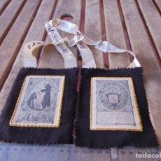 Antigüedades: ESCAPULARIO VENERABLE ORDEN TERCERA PADRE SAN FRANCISCO. Lote 183815480
