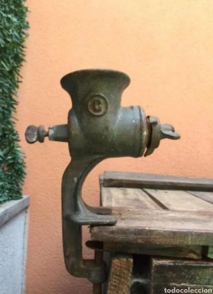 Antigüedades: Picadora de carne - Foto 4 - 183815535
