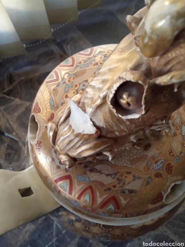 Antigüedades: Incensario porcelana japonesa Satsuma - Foto 2 - 183817467