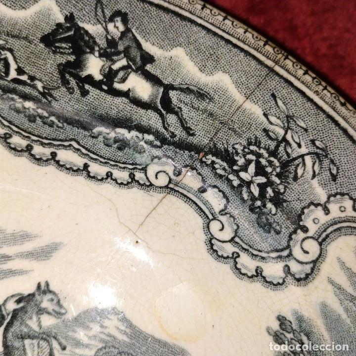 Antigüedades: PLATO SOPERO. LOZA ESMALTADA. MARCAS DE LA CARTAGENERA. ESPAÑA. SIGLO XIX - Foto 7 - 198104211