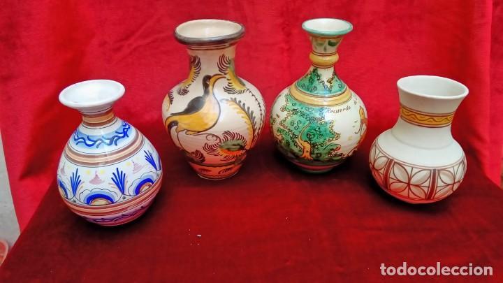JARRONES DE CERAMICA ESPAÑOLA (Antigüedades - Porcelanas y Cerámicas - Puente del Arzobispo )