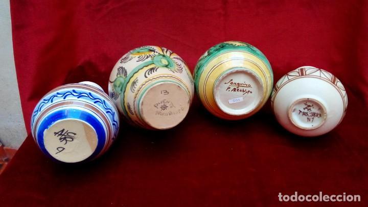 Antigüedades: jarrones de ceramica española - Foto 3 - 183819760