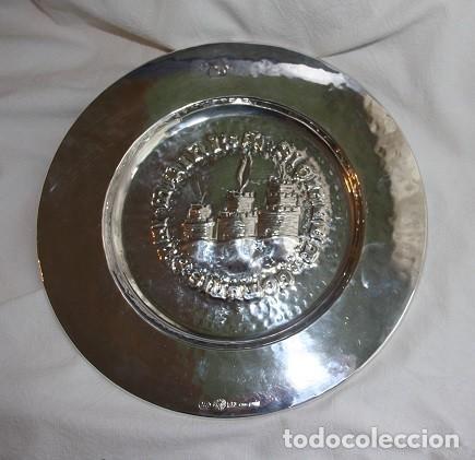 Antigüedades: 14, PRECIOSO Y RARO PLATO DE PLATA CON ESCUDO DE SAN MARINO, G. ARZILLI S.A. GIOELLERIA SAN MARINO - Foto 3 - 183819901