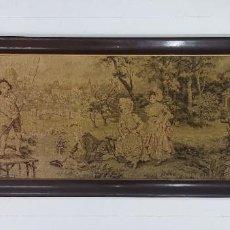 Antigüedades: IMPRESIONANTE MUY ANTIGUO TAPIZ 154X55 CM. SOLO GRANADA!!! . Lote 183822150