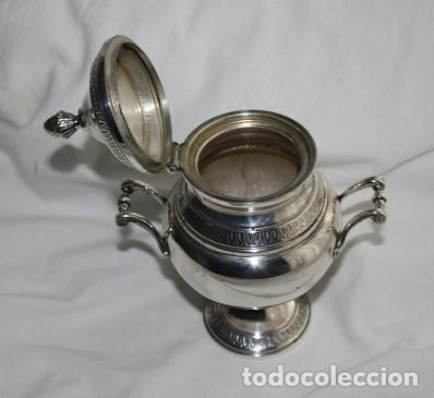 Antigüedades: 45,, PRECIOSA ANTIGUA PIEZA DE PLATA TIPO AZUCARERO - Foto 4 - 183832701