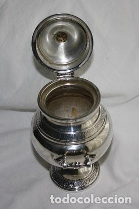 Antigüedades: 45,, PRECIOSA ANTIGUA PIEZA DE PLATA TIPO AZUCARERO - Foto 5 - 183832701