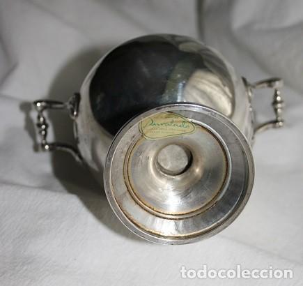 Antigüedades: 45,, PRECIOSA ANTIGUA PIEZA DE PLATA TIPO AZUCARERO - Foto 6 - 183832701