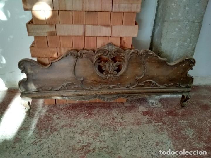 Antigüedades: Cabecero de cama Antiguo - Foto 2 - 183838876