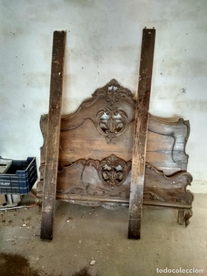 Antigüedades: Cabecero de cama Antiguo - Foto 3 - 183838876