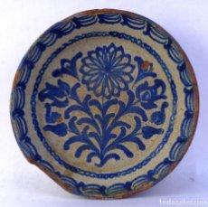 Antigüedades: FUENTE EN CERÁMICA DE FAJALAUZA GRANADA SIGLO XIX . Lote 183853930