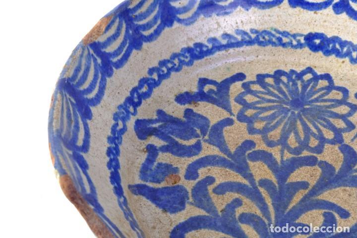 Antigüedades: Fuente en cerámica de Fajalauza Granada siglo XIX - Foto 4 - 183853930