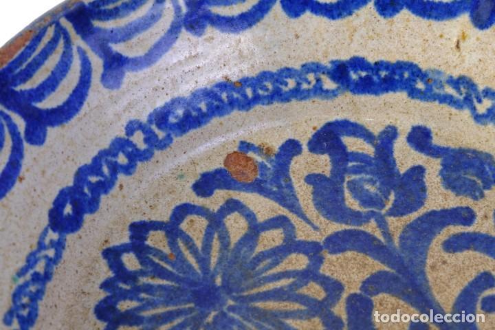 Antigüedades: Fuente en cerámica de Fajalauza Granada siglo XIX - Foto 6 - 183853930