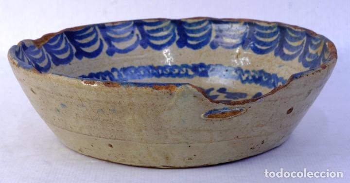 Antigüedades: Fuente en cerámica de Fajalauza Granada siglo XIX - Foto 7 - 183853930