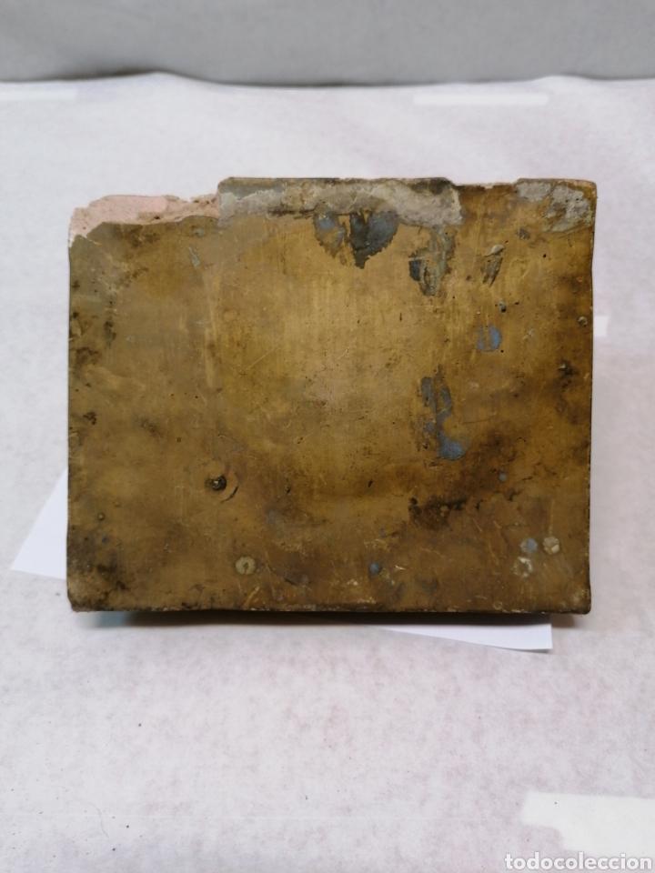 Antigüedades: Peana de escayola - Foto 2 - 183855052
