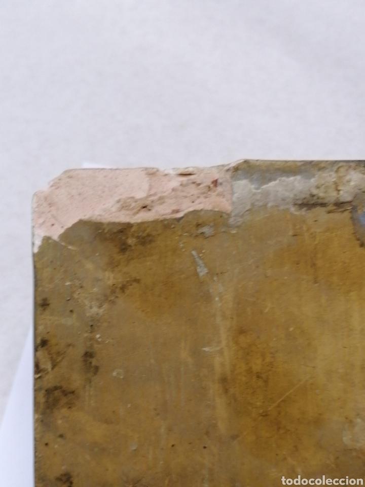 Antigüedades: Peana de escayola - Foto 3 - 183855052