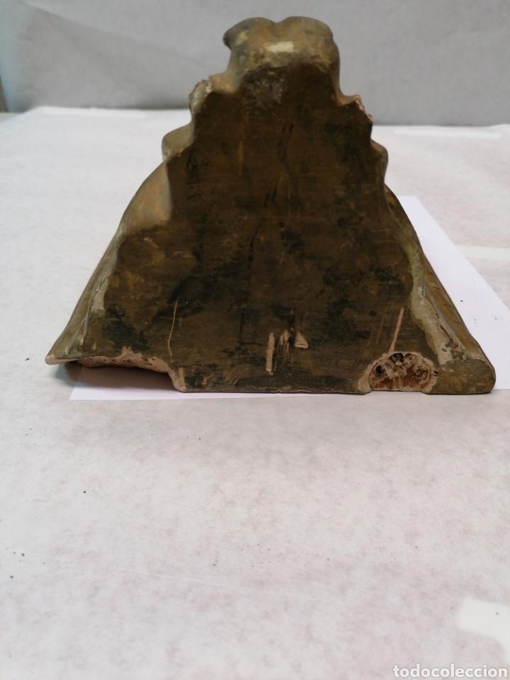 Antigüedades: Peana de escayola - Foto 5 - 183855052