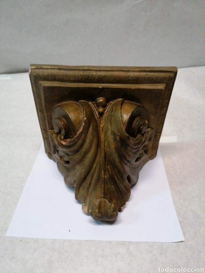 PEANA DE ESCAYOLA (Antigüedades - Religiosas - Varios)