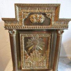 Antigüedades: SAGRARIO DE BRONCE. Lote 183882411