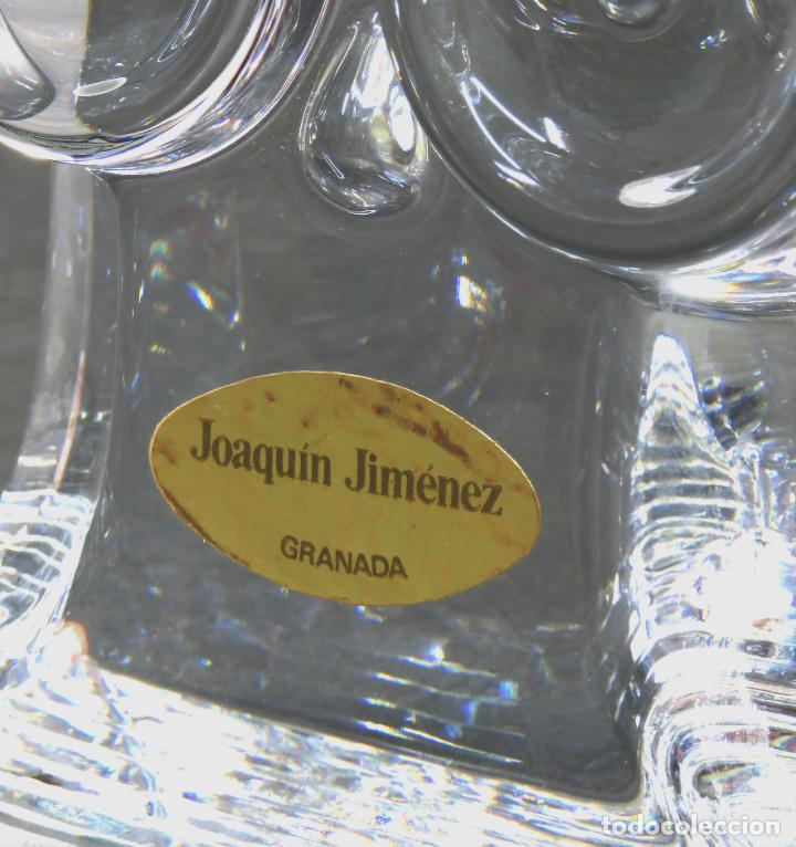 Antigüedades: Búho en vidrio cristal firmado Orrefors Olle Alberius Expo A 216 72 siglo XX - Foto 3 - 183891221
