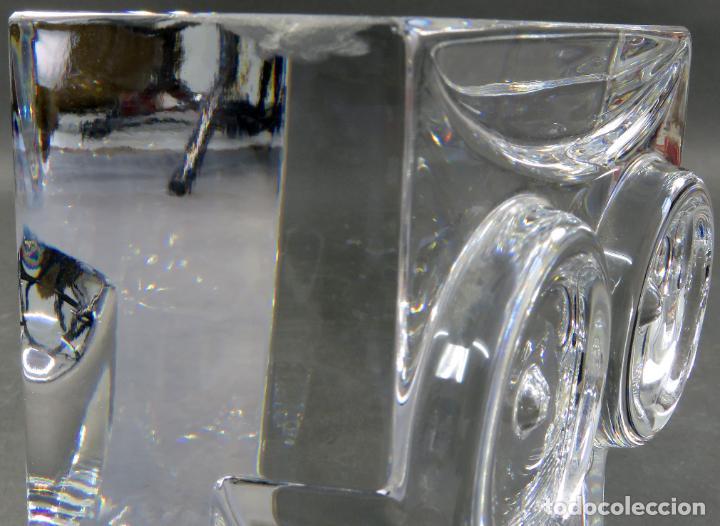 Antigüedades: Búho en vidrio cristal firmado Orrefors Olle Alberius Expo A 216 72 siglo XX - Foto 8 - 183891221