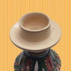Antigüedades: PRECIOSA PALMATORIA PINTADA A MANO, ORIGEN AFRICA TUNEZ ARTESANIA REGALO. Lote 183893878