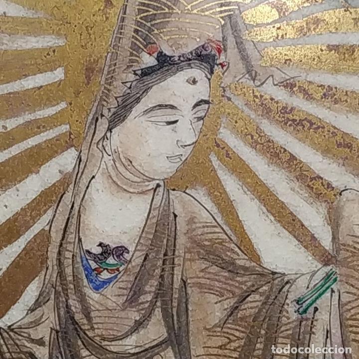 Antigüedades: GRAN JARRÓN SATSUMA. PORCELANA ESMALTADA Y DORADA. JAPÓN. SIGLO XIX - Foto 13 - 183898196