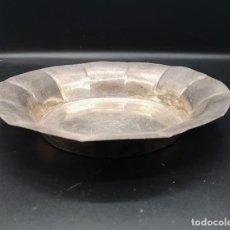 Antigüedades: RECIPIENTE EN PLATA. Lote 183904103