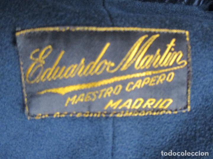 Antigüedades: ANTIGUA Y ESPECTACULAR CAPA ESPAÑOLA PARA HOMBRE , EDUARDO MARTIN, MAESTRO CAPERO - Foto 2 - 183906808
