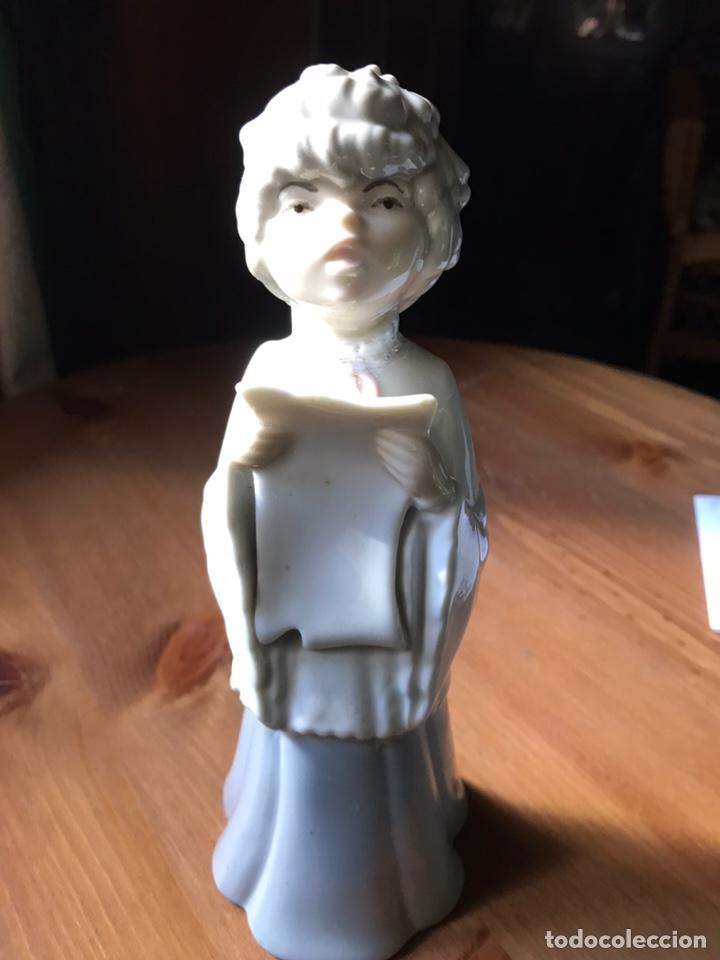 Antigüedades: Figura de porcelanas Miguel Requena - Foto 2 - 183912168