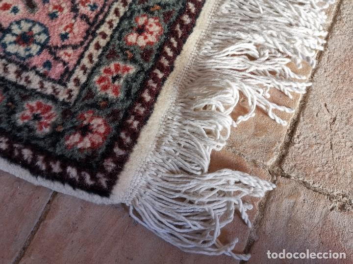 Antigüedades: ALFOMBRA TURCA KAYSERI AÑOS 50 HANDMADE NUDO TURCO LANA Y ALGODON--IMPECABLE 250 X 150-----REF-1AC - Foto 16 - 183924135